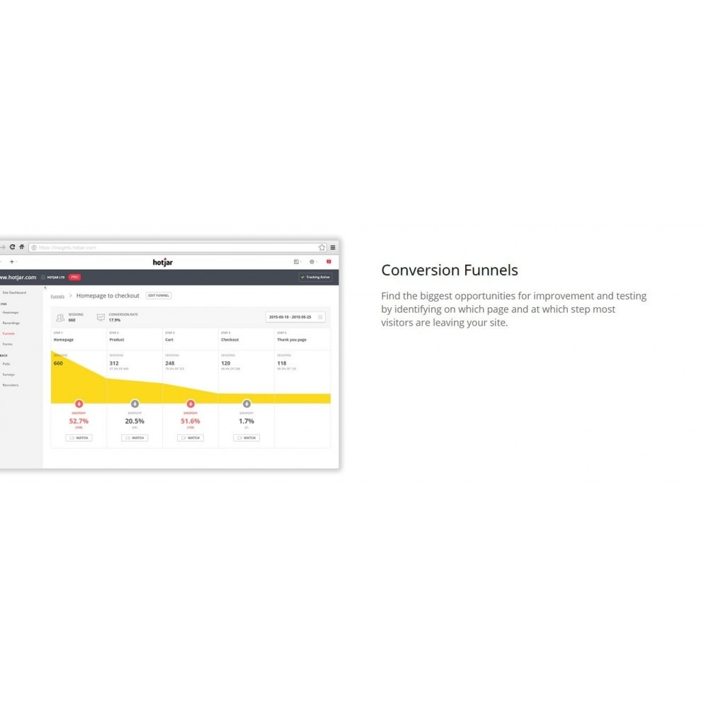 module - Analytics & Statistics - Hotjar - All-in-one WebShop Analytics and Feedback - 6