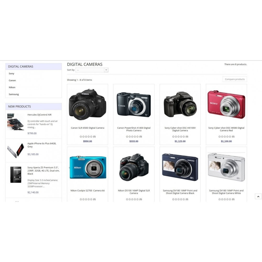 theme - Electronique & High Tech - Eramarket Responsive - 11