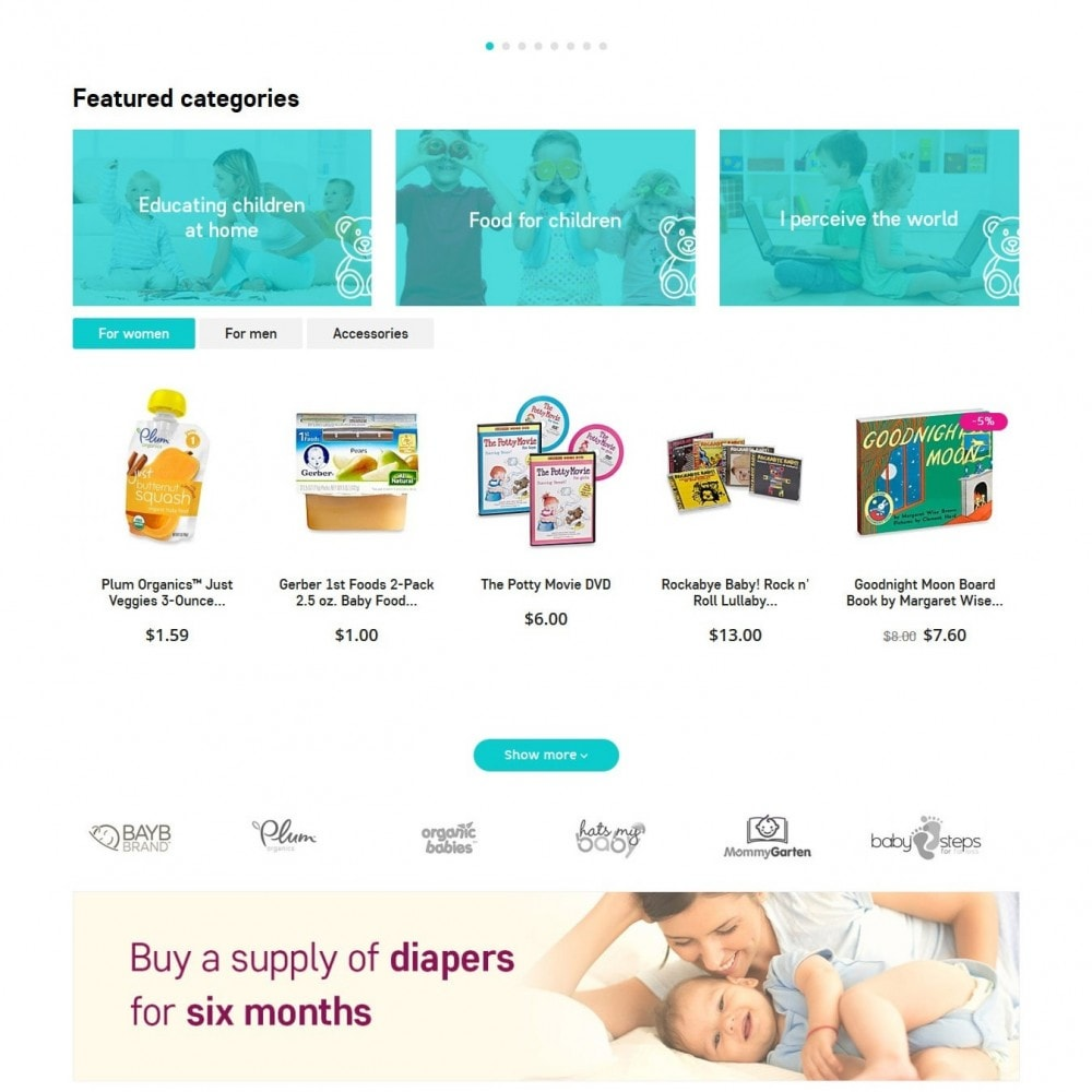 theme - Enfants & Jouets - Baby Grows 1.6 Responsive - 3