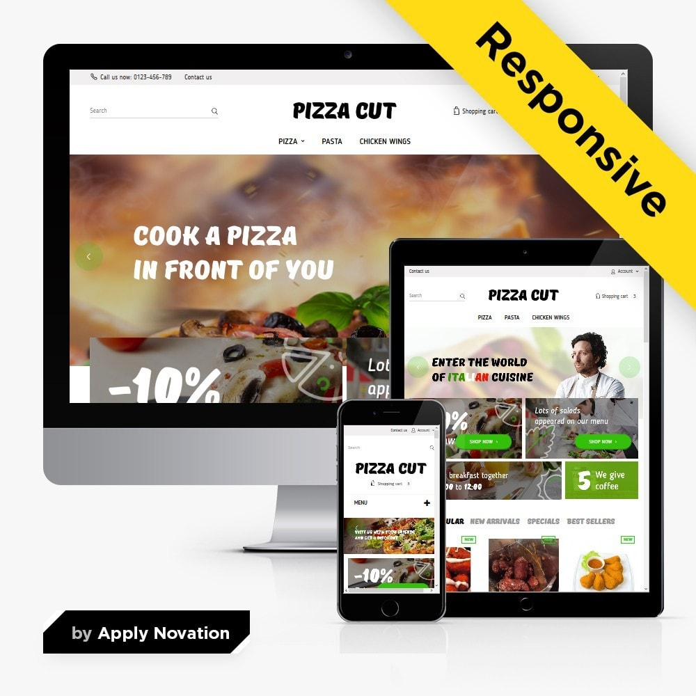 theme - Alimentation & Restauration - Pizza Cut - 1