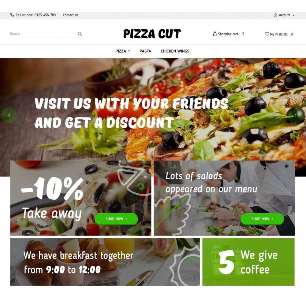 theme - Food & Restaurant - Pizza Cut - 2
