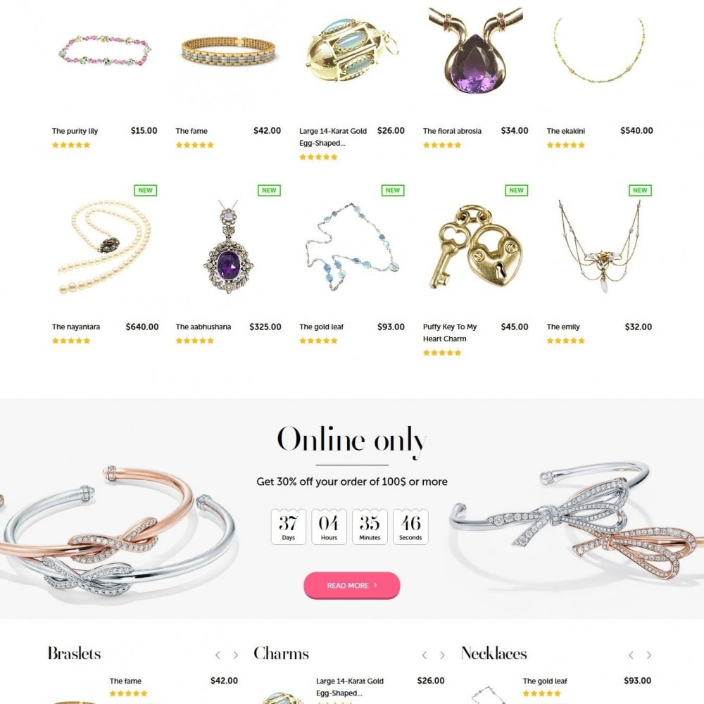 theme - Jewelry & Accessories - Jewelry&Co 1.6 Responsive - 3