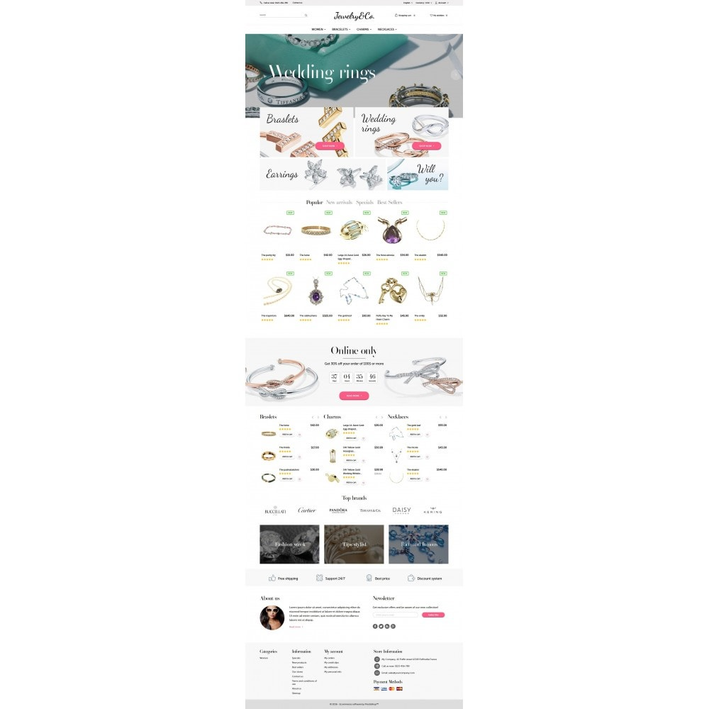 theme - Jewelry & Accessories - Jewelry&Co 1.6 Responsive - 4