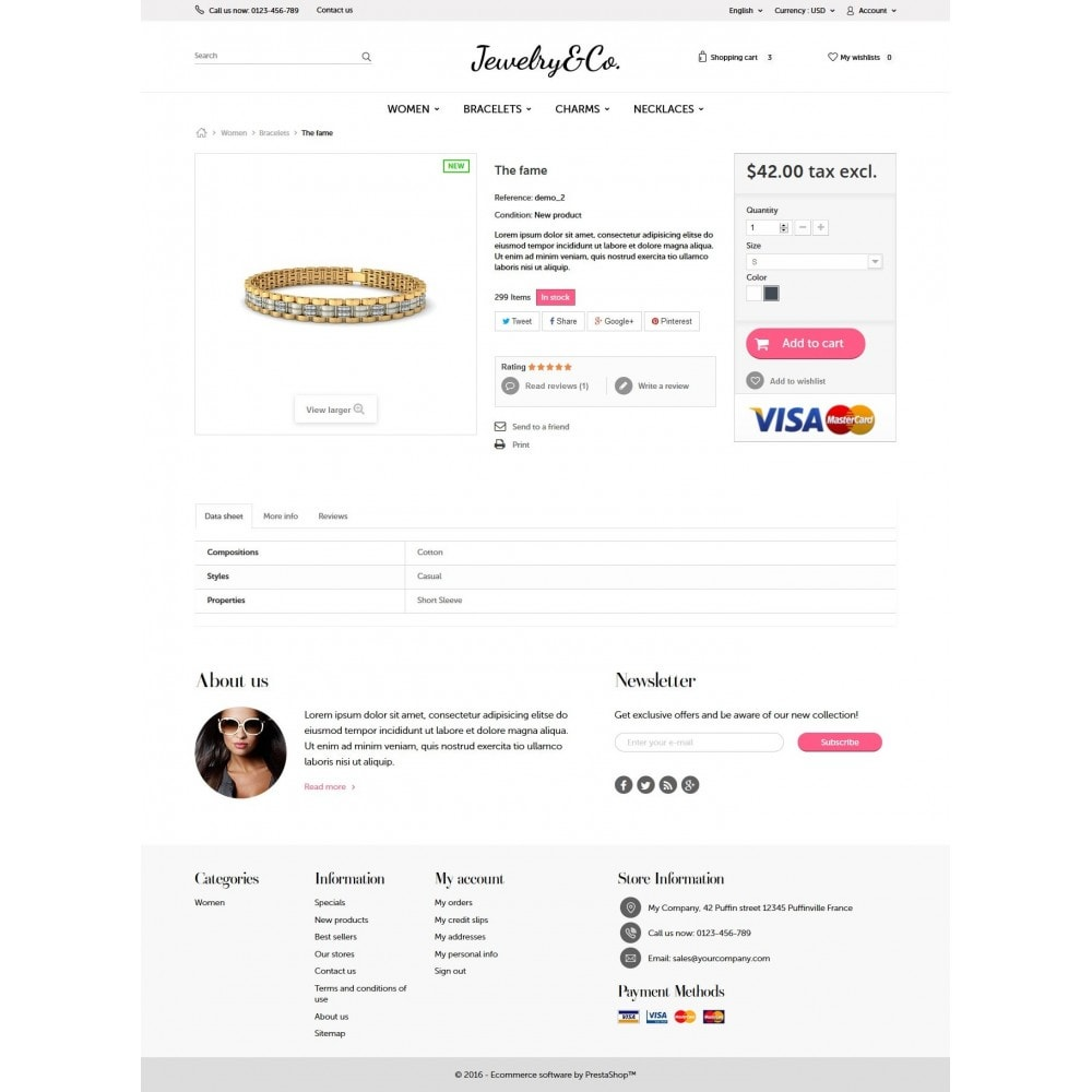 theme - Bellezza & Gioielli - Jewelry&Co - 7