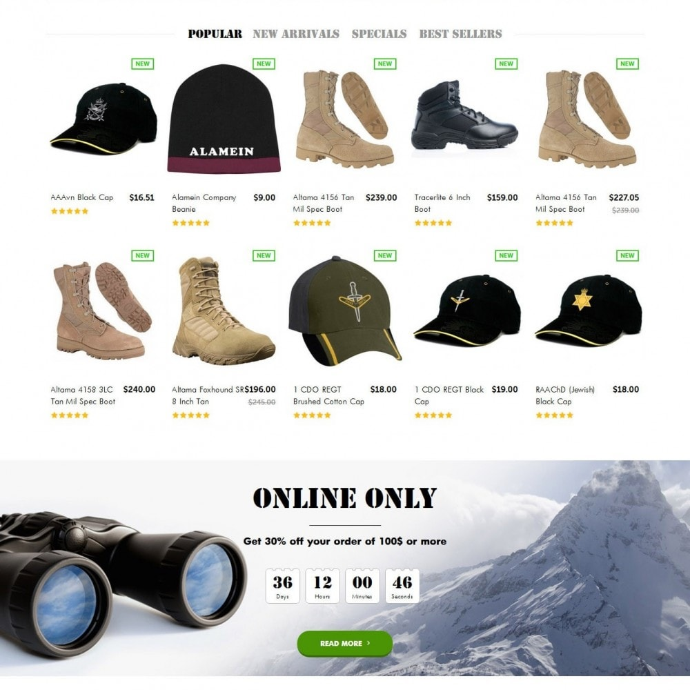 OutPost 1.6 Responsive