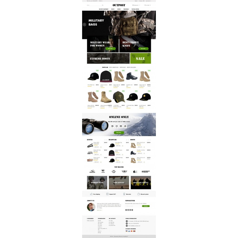 theme - Fashion & Shoes - OutPost 1.6 Responsive - 4