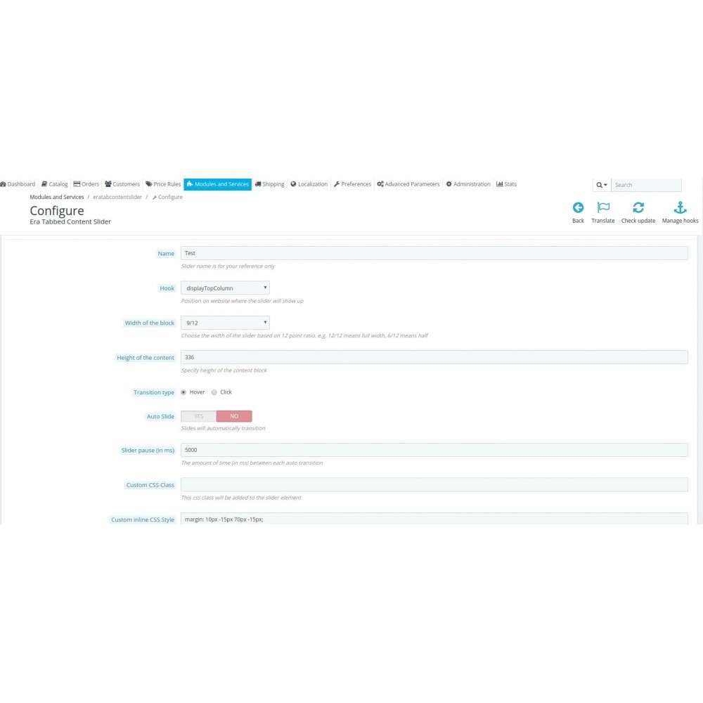 module - Bloki, Zakładki & Banery - Era Tab Content Slider - 4