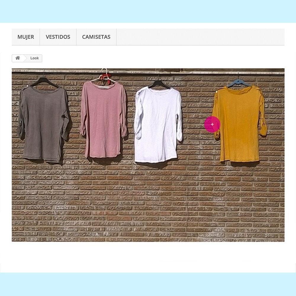 module - Personalização de página - Looks - 2