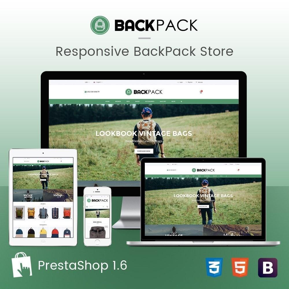 Bags & Luggage - Backpacks Responsive Store