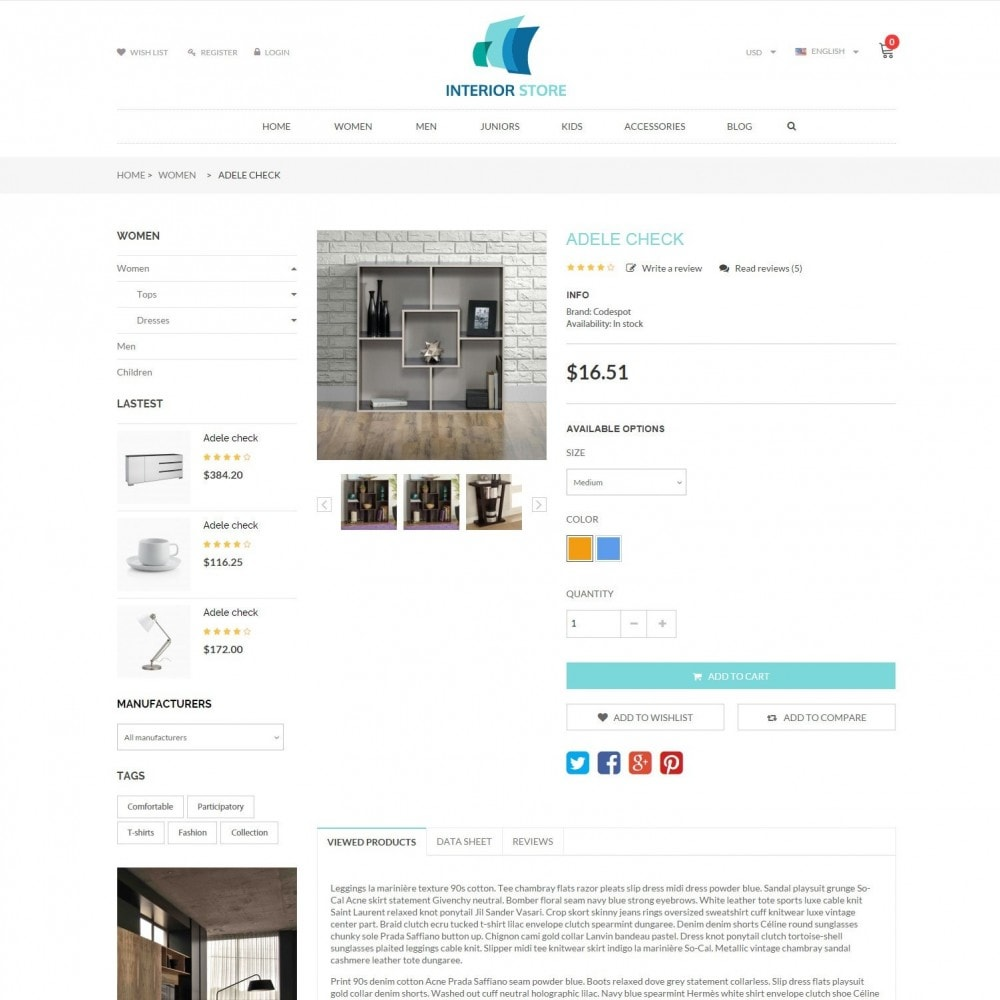 theme - Home & Garden - Home & Furniture - Interior Responsive Store - 5