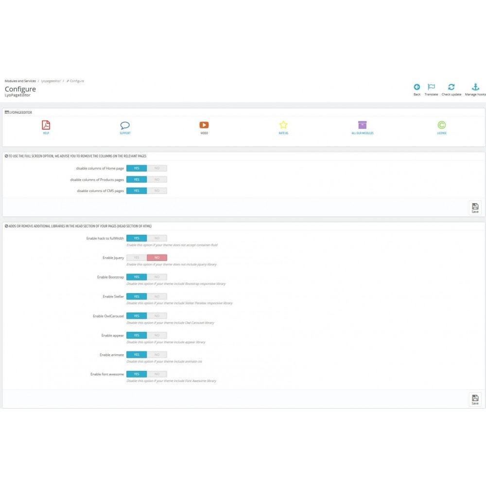 module - Personalizzazione pagine - Responsive Page Web Editor - 8