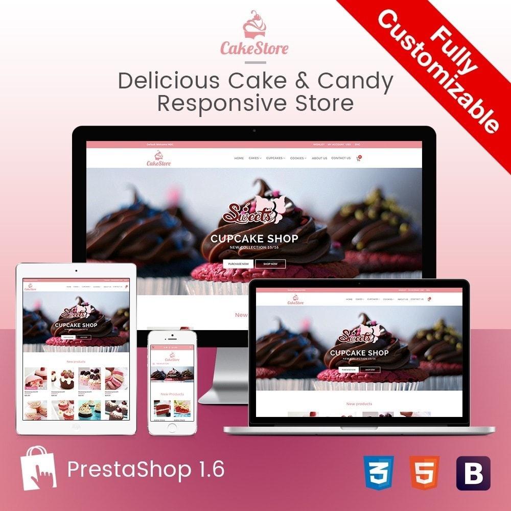 Bakery, Food & Drinks - CakeStore Responsive