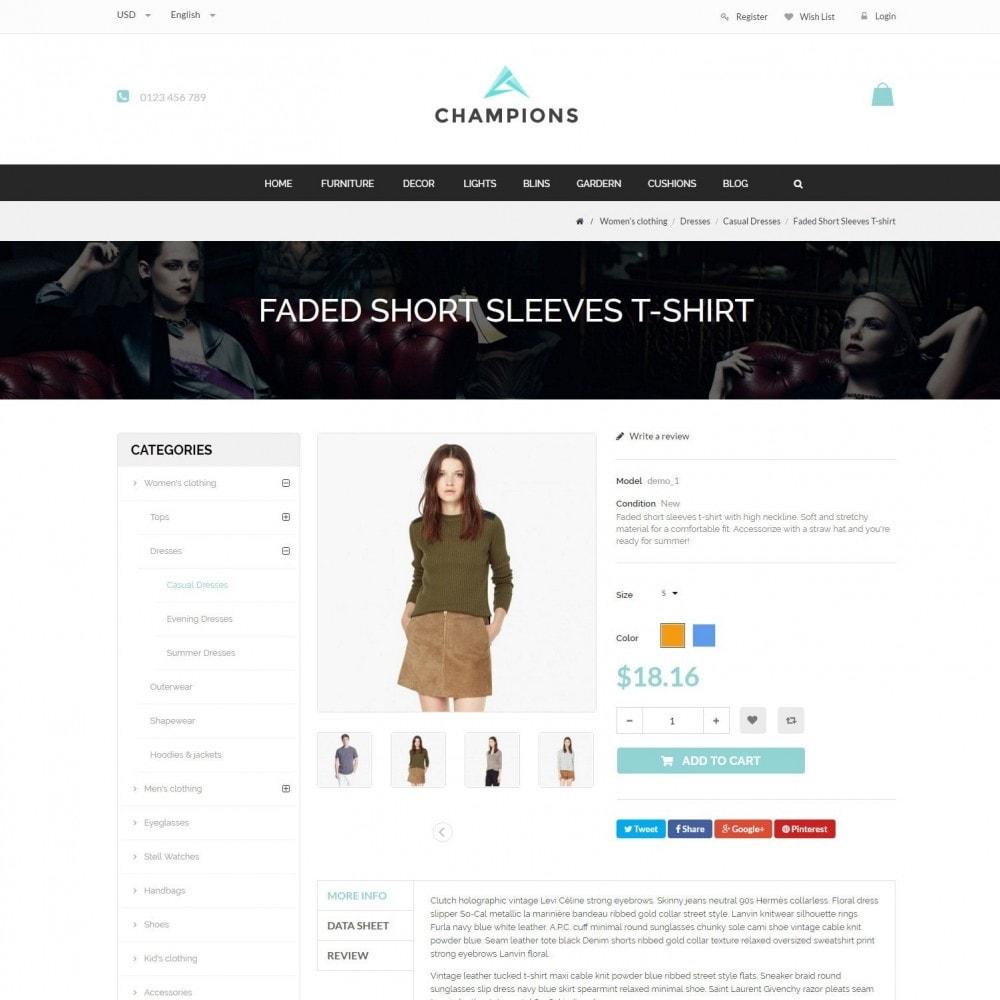 theme - Mode & Schoenen - Parallax Fashion Minimal - Champion Responsive Store - 5