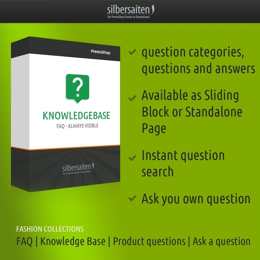 module - FAQ (Domande Frequenti) - Knowledge base - FAQ -sempre visibili - 1