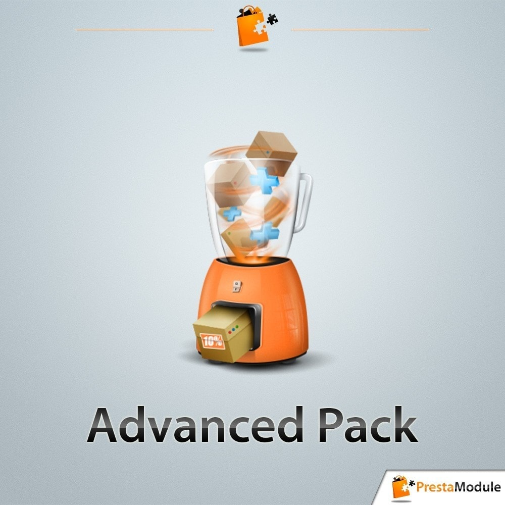pack - Cross-selling & Product Bundles - Pack Transformation: 3 modules to increase your sales - 2