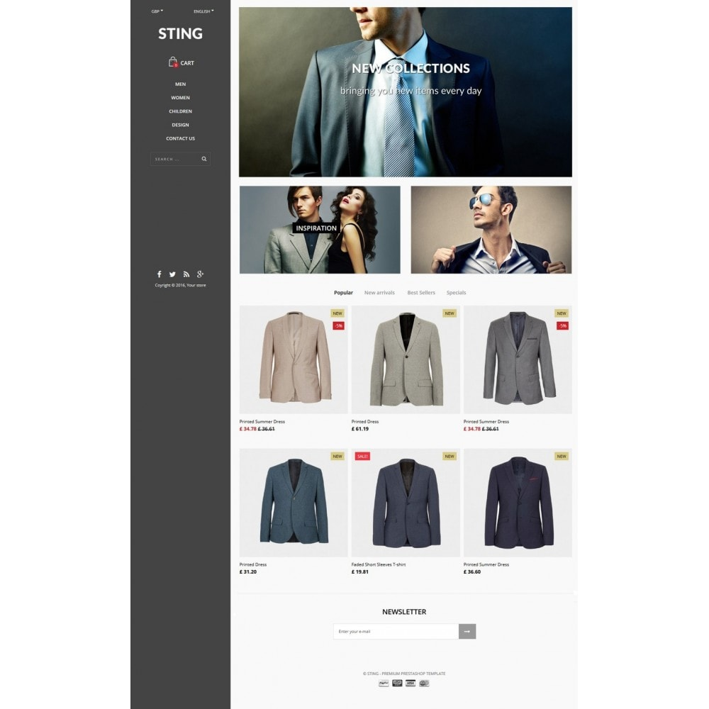 theme - Moda & Calzature - Sting - 5