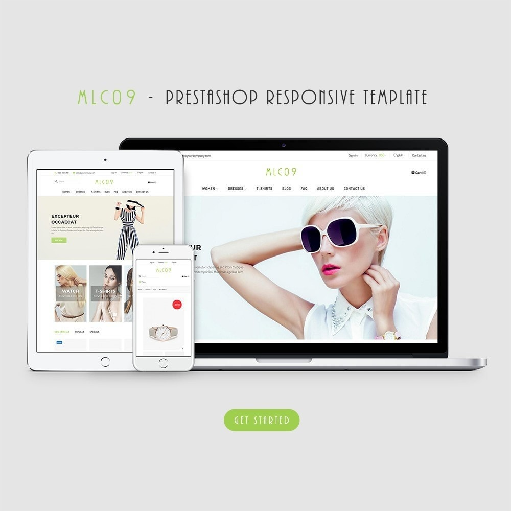 theme - Fashion & Shoes - mlc09 - A New Fashion e-Commerce - 1