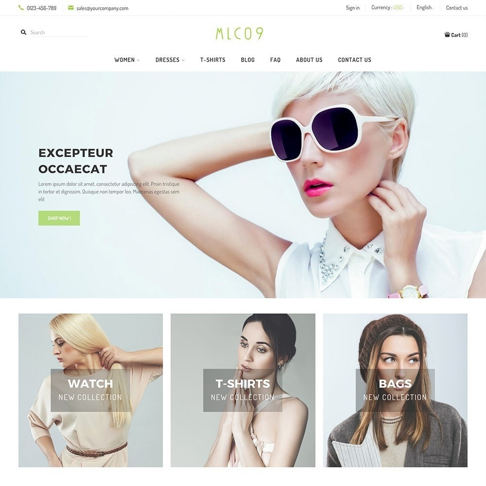 theme - Fashion & Shoes - mlc09 - A New Fashion e-Commerce - 2
