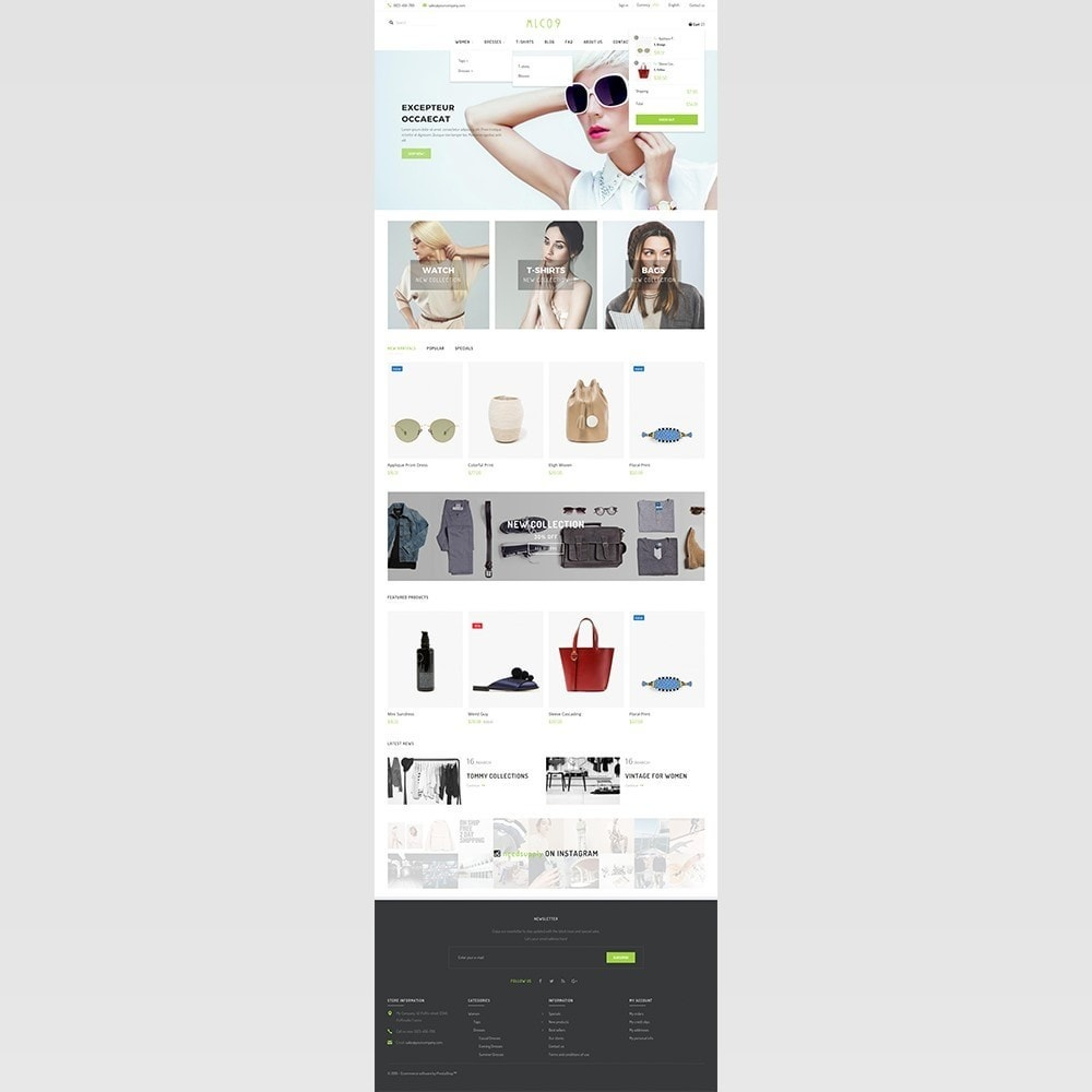 theme - Mode & Schoenen - mlc09 - A New Fashion e-Commerce - 4