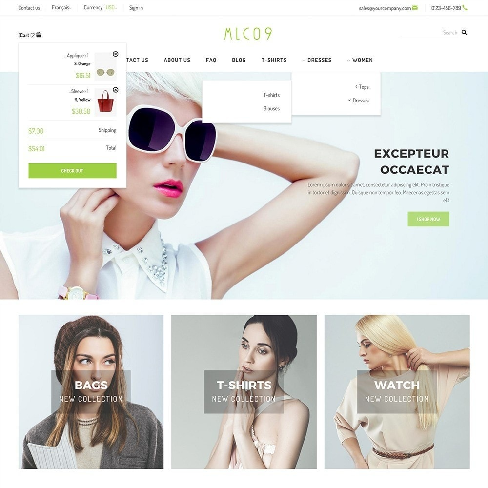 theme - Mode & Schoenen - mlc09 - A New Fashion e-Commerce - 5