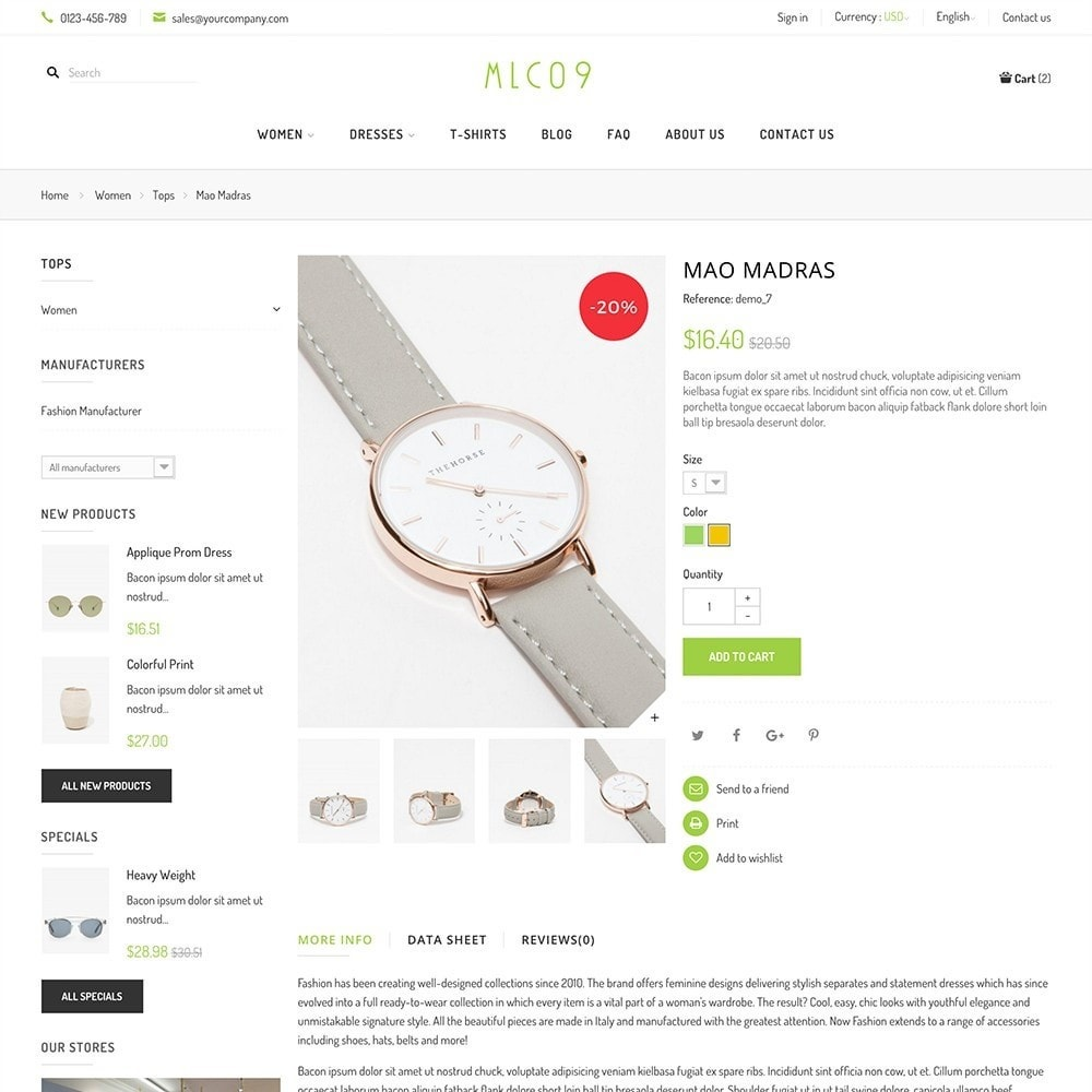 theme - Mode & Schoenen - mlc09 - A New Fashion e-Commerce - 11