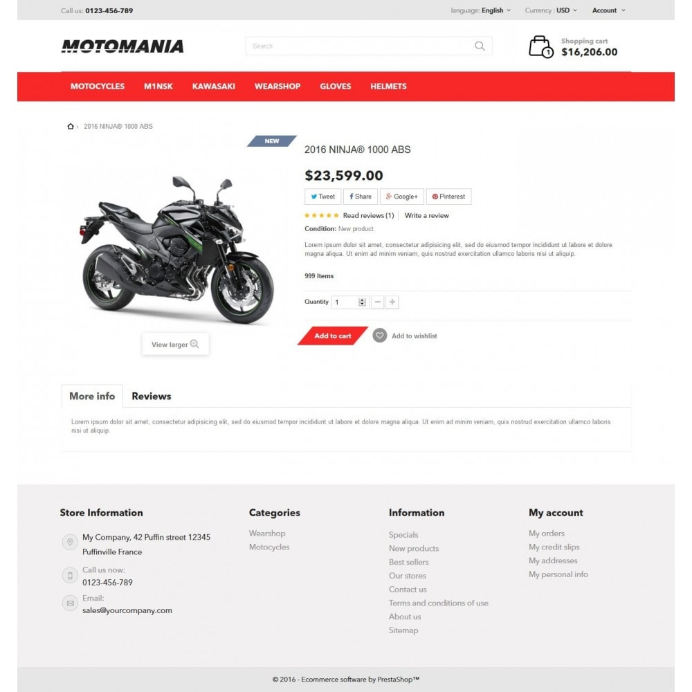theme - Automotive & Cars - Motomania - 7