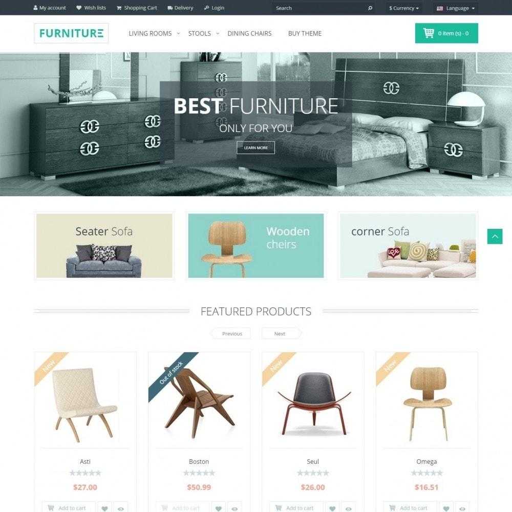 Furniture - Interior De La Tienda