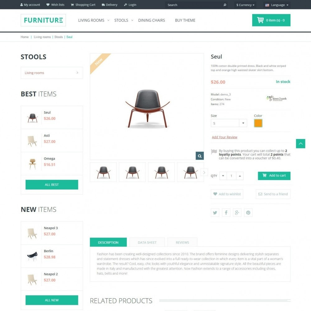 theme - Casa & Giardino - Furniture - Interno Negozio - 4