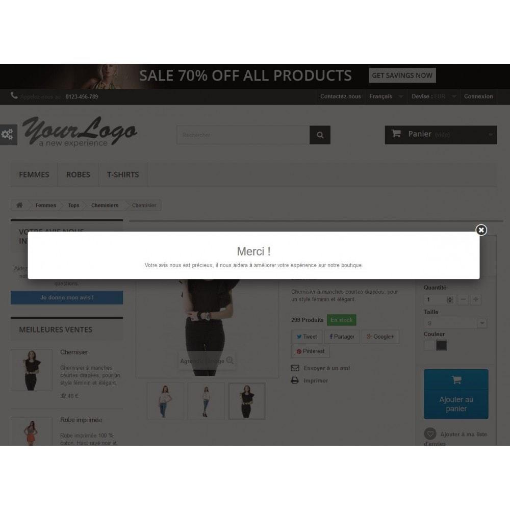 module - Avis clients - Rich Feedback : avis et satisfaction clients - 2