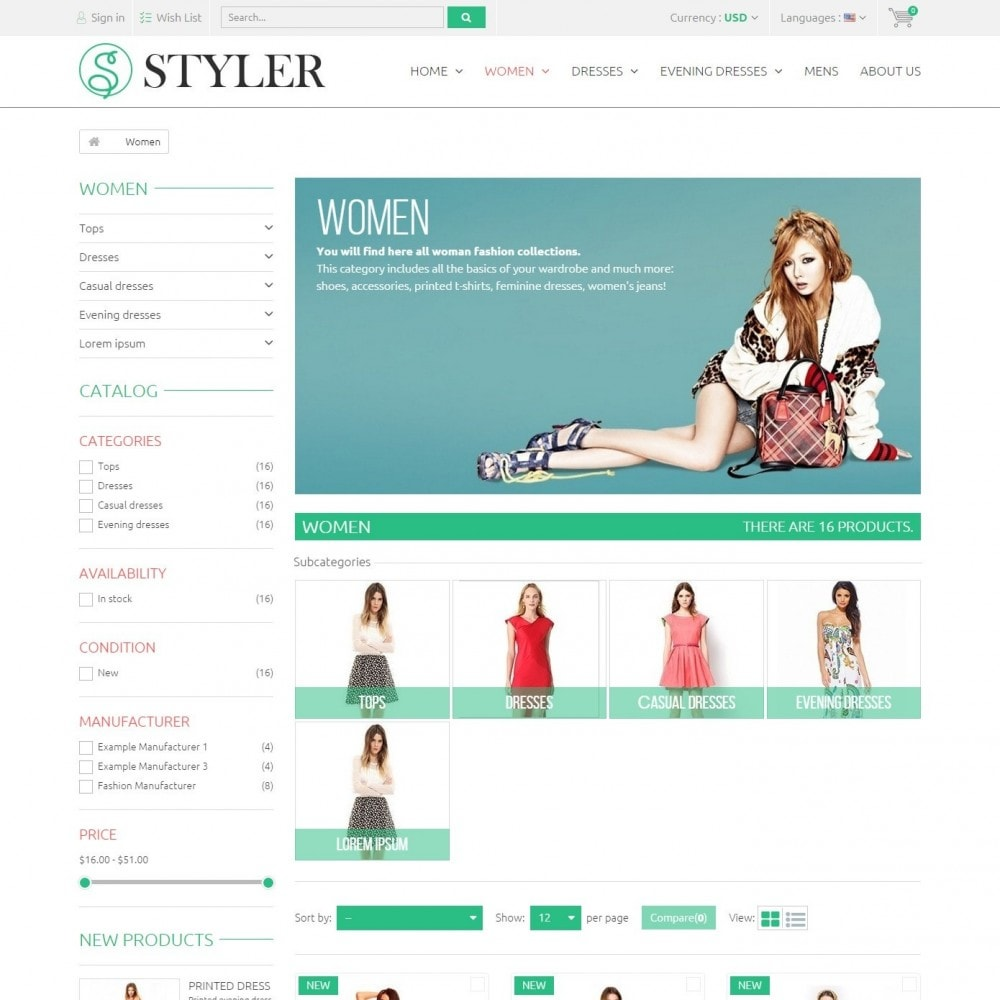 Styler Shop - Сlothes Store