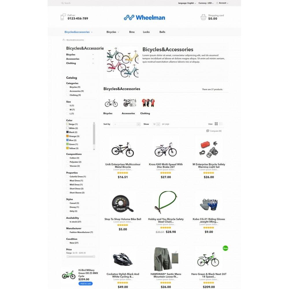 theme - Sport, Loisirs & Voyage - WheelMan Bike Store - 5