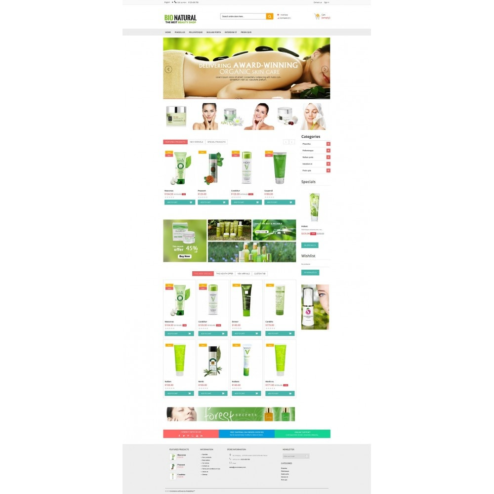 theme - Salud y Belleza - Bio Naturals Premium - 5