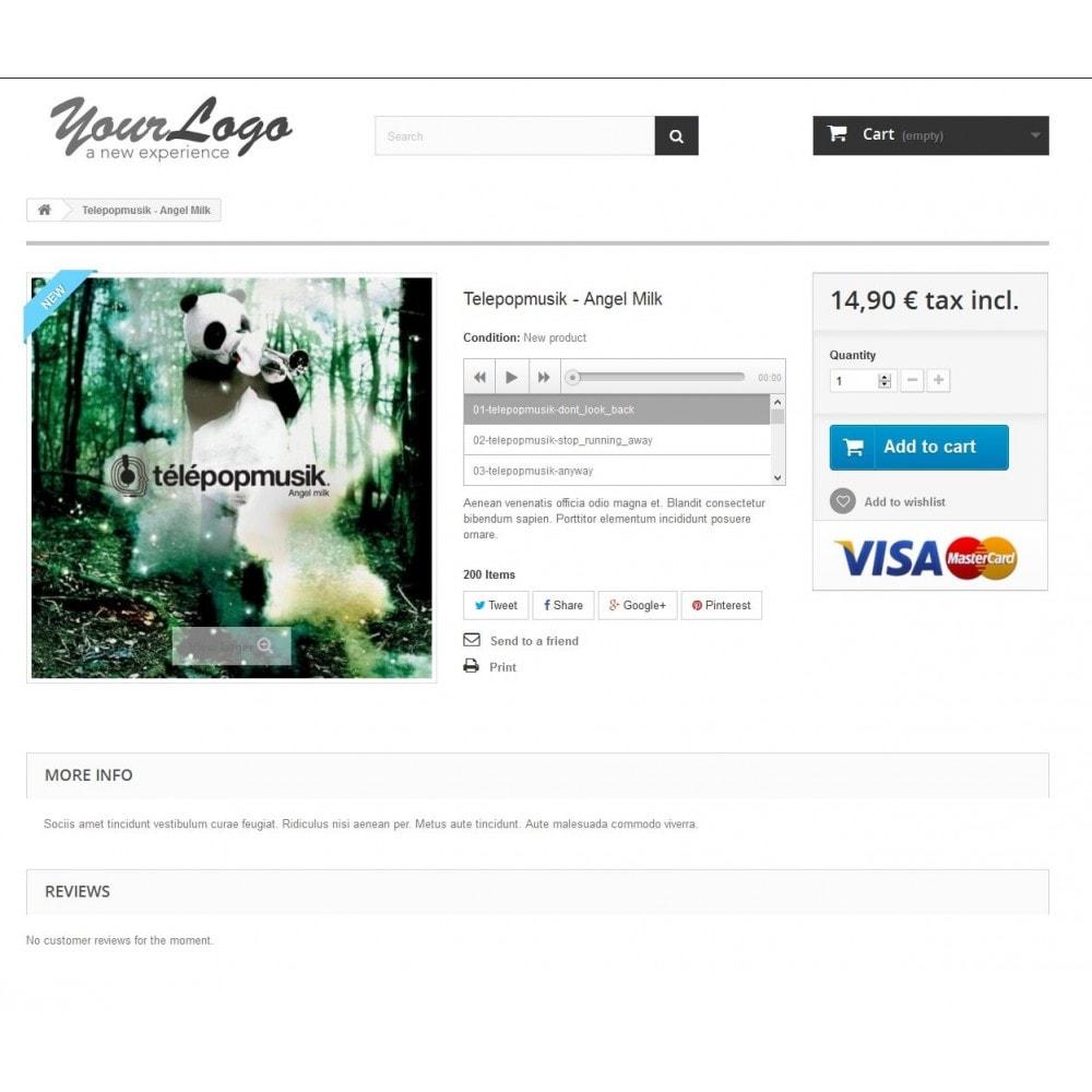 module - Vidéo & Musique - Produit Audio Playlist - 2
