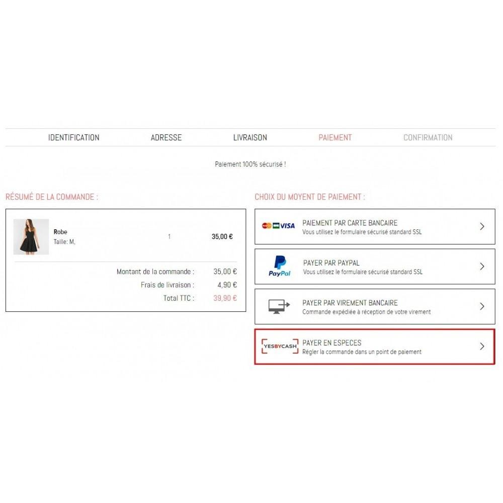 module - Paiement en Magasin - Yes By Cash – Paiement en espèces sur internet - 3