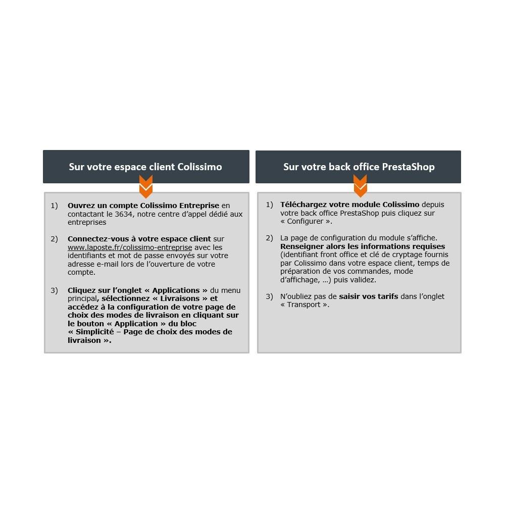 module - Перевозчики - Colissimo Simplicité - Officiel - 2