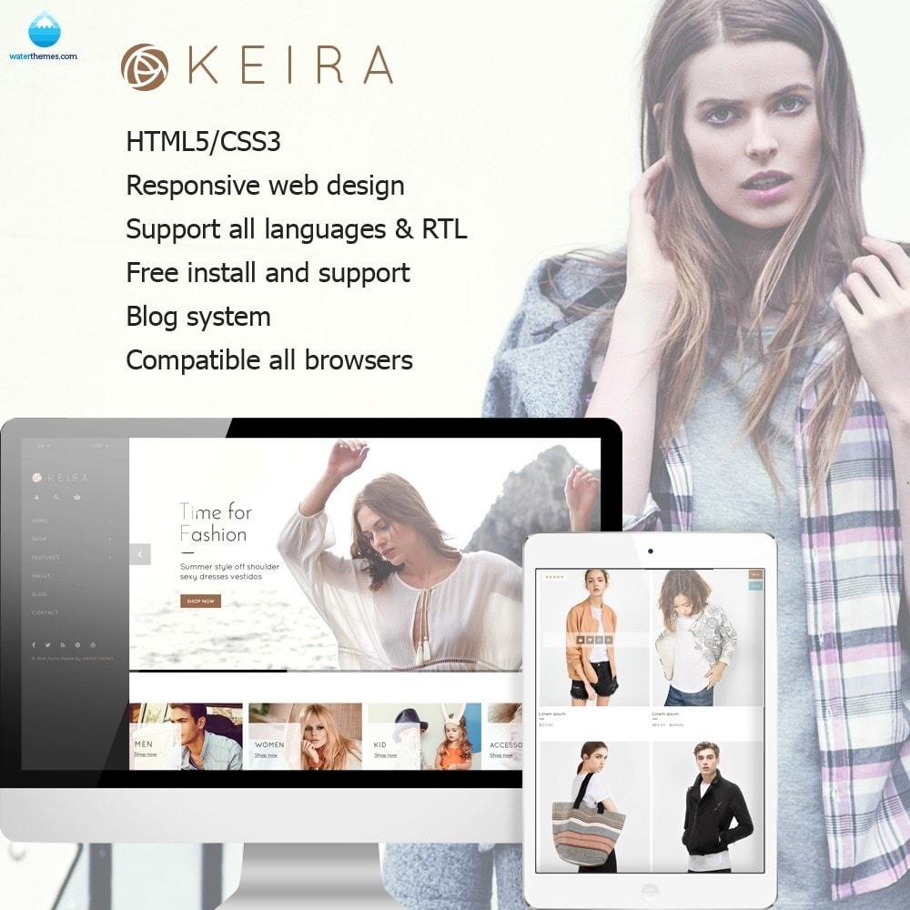 theme - Mode & Chaussures - Water Keira Fashion - 1