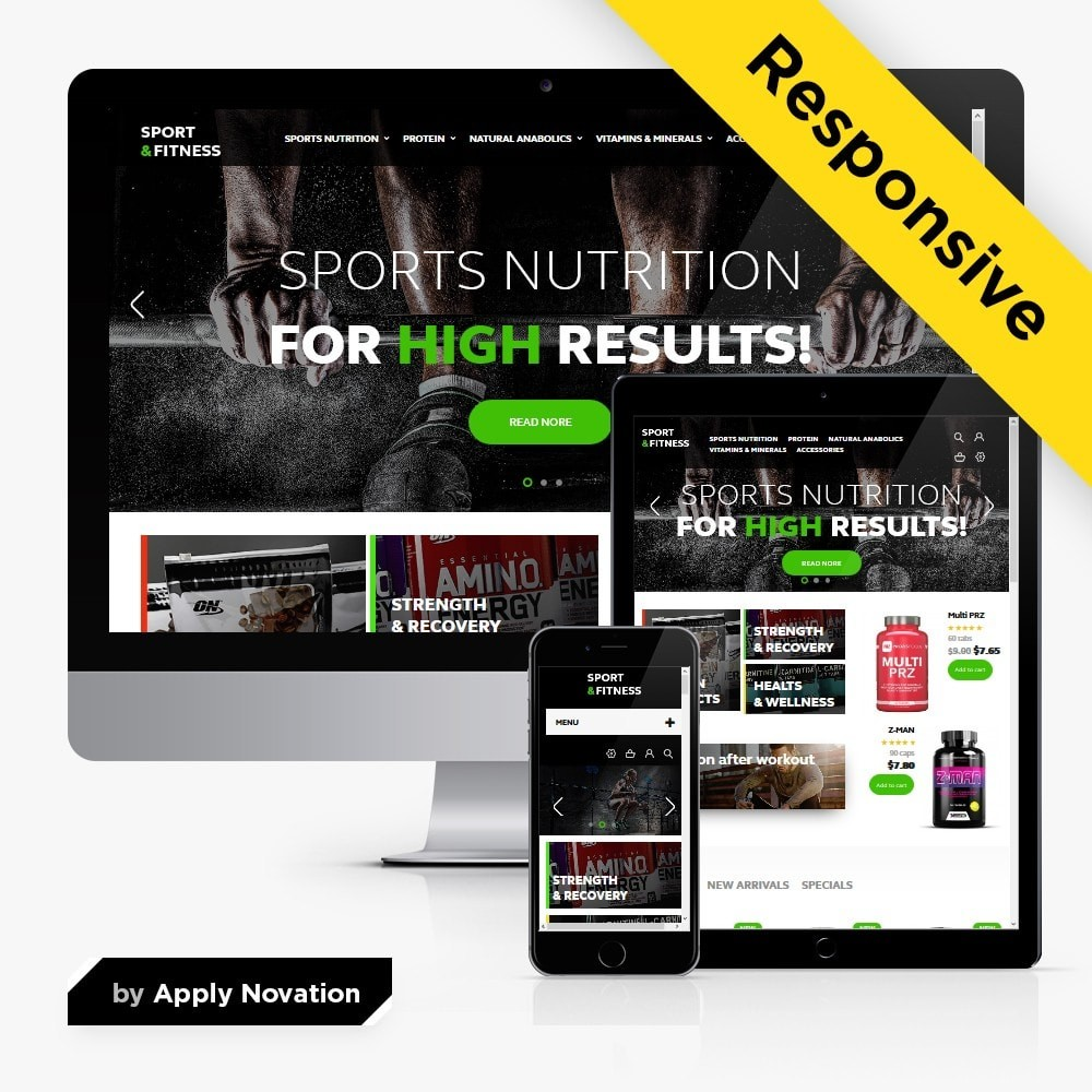 theme - Sport, Loisirs & Voyage - Sport & Fitness - 1