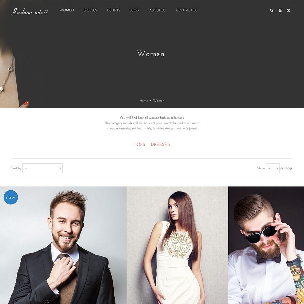 theme - Мода и обувь - mlc11 - A New Clothing and Fashion e-Commerce - 5