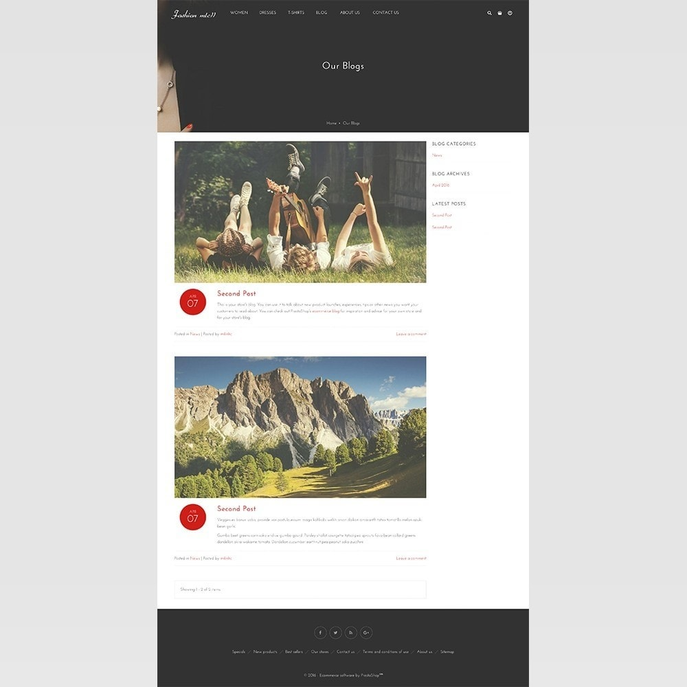 theme - Moda y Calzado - mlc11 - A New Clothing and Fashion e-Commerce - 10