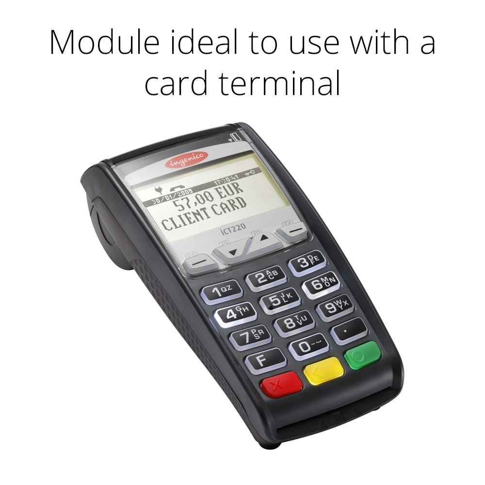 module - Point of Sale (POS) - Offline Credit Card Payment - Manual processing - 2