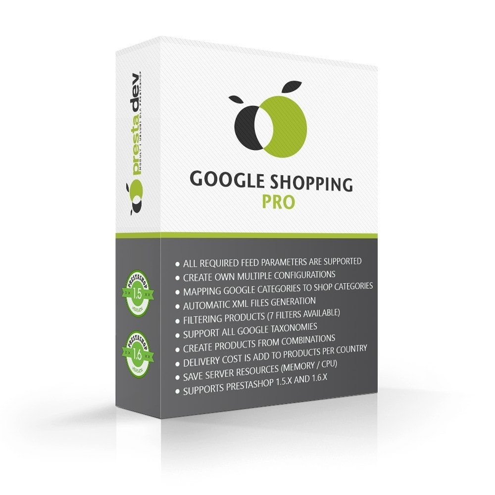 module - Marketplaces - Google Shopping Pro Advanced Edition - 1