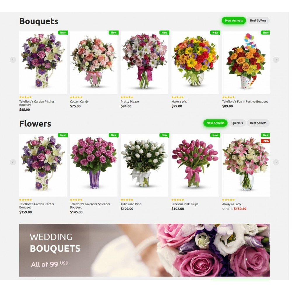 Bouquets Flower Shop