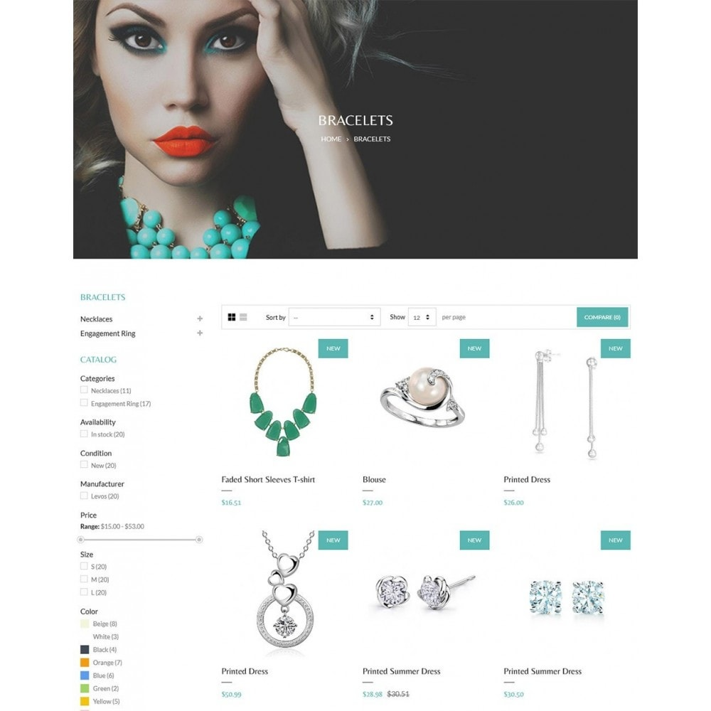 Water Glamzue Jewelry