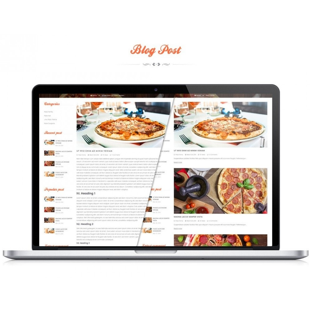 theme - Alimentation & Restauration - JMS Pizza - 3