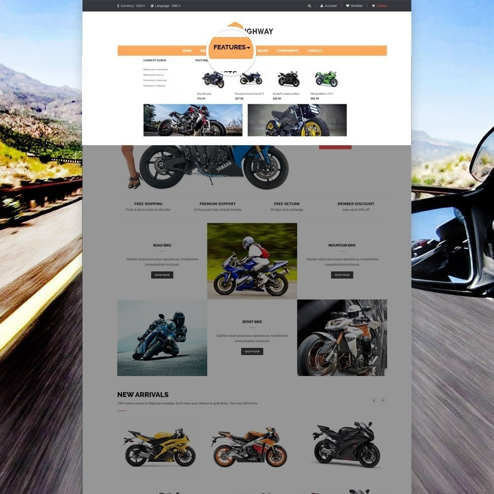 theme - Carros & Motos - Ap Highway - 4