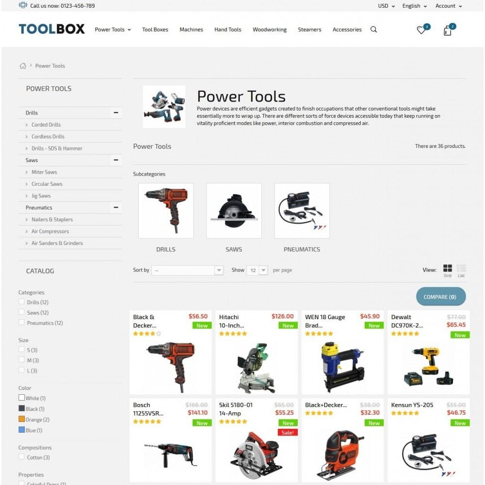 theme - Hogar y Jardín - Tool Box - 5