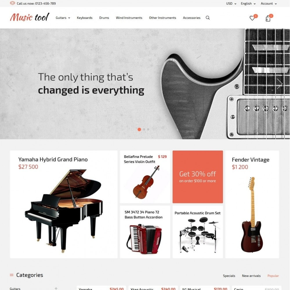 theme - Art & Culture - Music Tool - 2