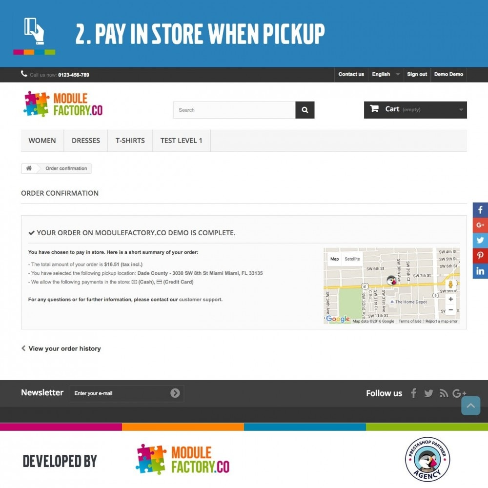 pack - Pagamento alla Consegna (in contrassegno) - Advanced Pickup and Pay in Store Pack - 7