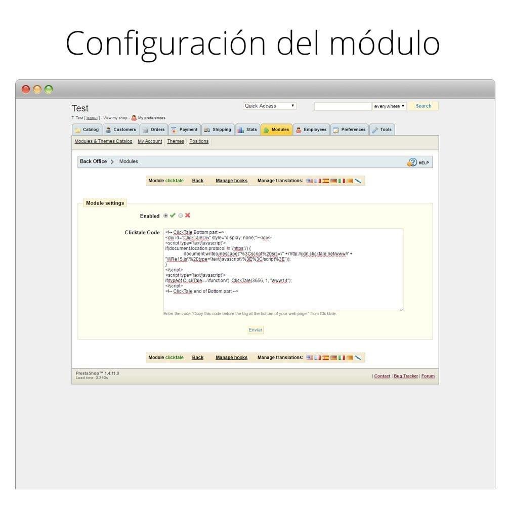 module - Informes y Estadísticas - ClickTale - Optimiza tu tienda y mejora la usabilidad - 4
