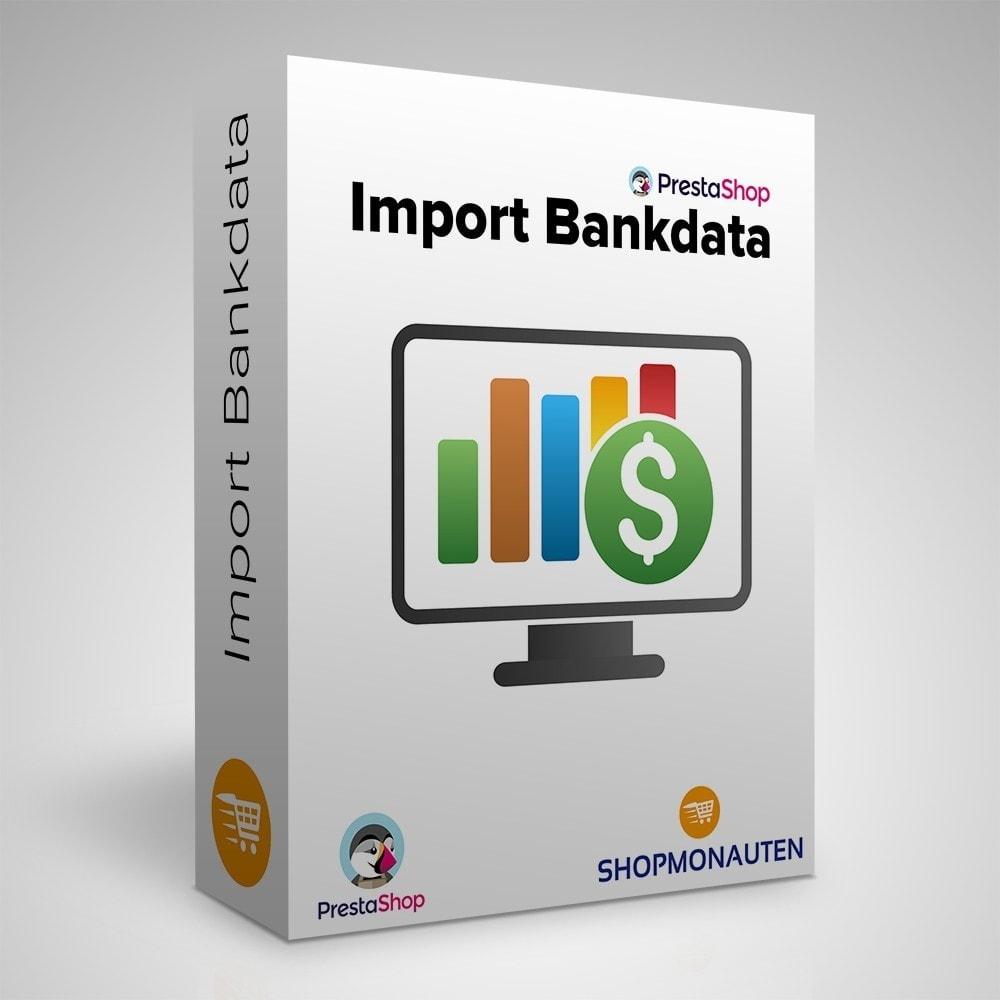 module - Daten Im-&Export - Bankimport - 1